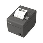 Epson TM-T20III Thermal Receipt Printer (80mm), Serial + USB, A/C, PS, USB Cable & WM Bracket Included; Black