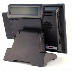 TouchDynamic Breeze/Pulse (Not ULTRA) Integrated Rear Display 2X20 VFD Top Mounting  **PRINTER BASE INSTALLATIONS ONLY**
