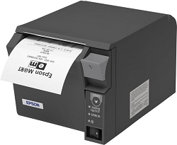 Epson TM-T70II Thermal Receipt Printer Dark Grey USB + Serial